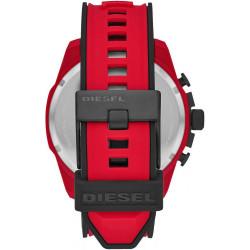 Montre Diesel en Silicone Rouge