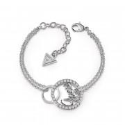 Bracelet en Acier et Cristal