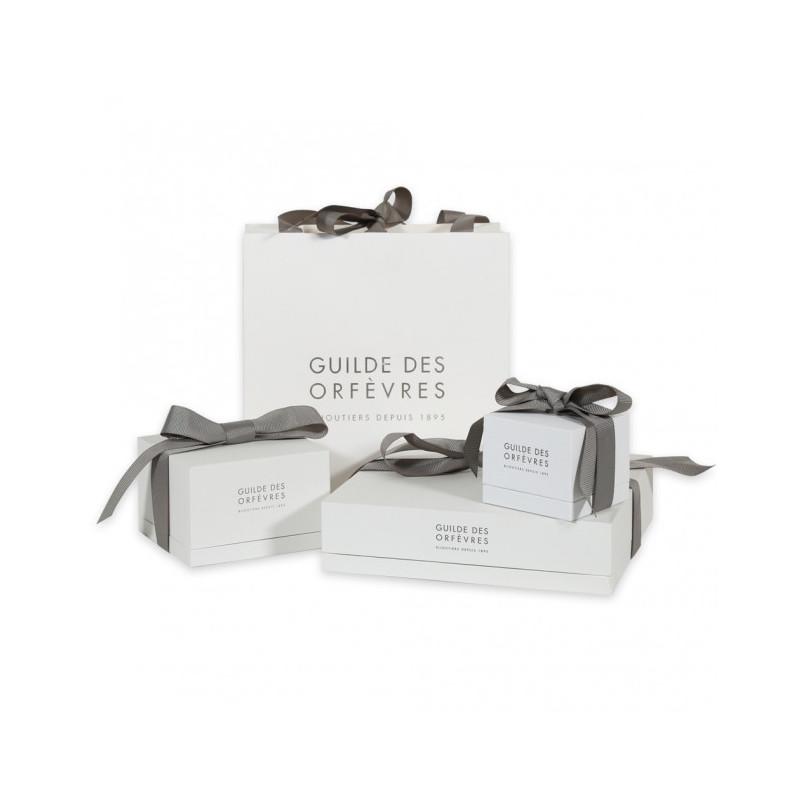 Manchette Les Georgettes 8 mm en Métal et Oxyde de Zirconium